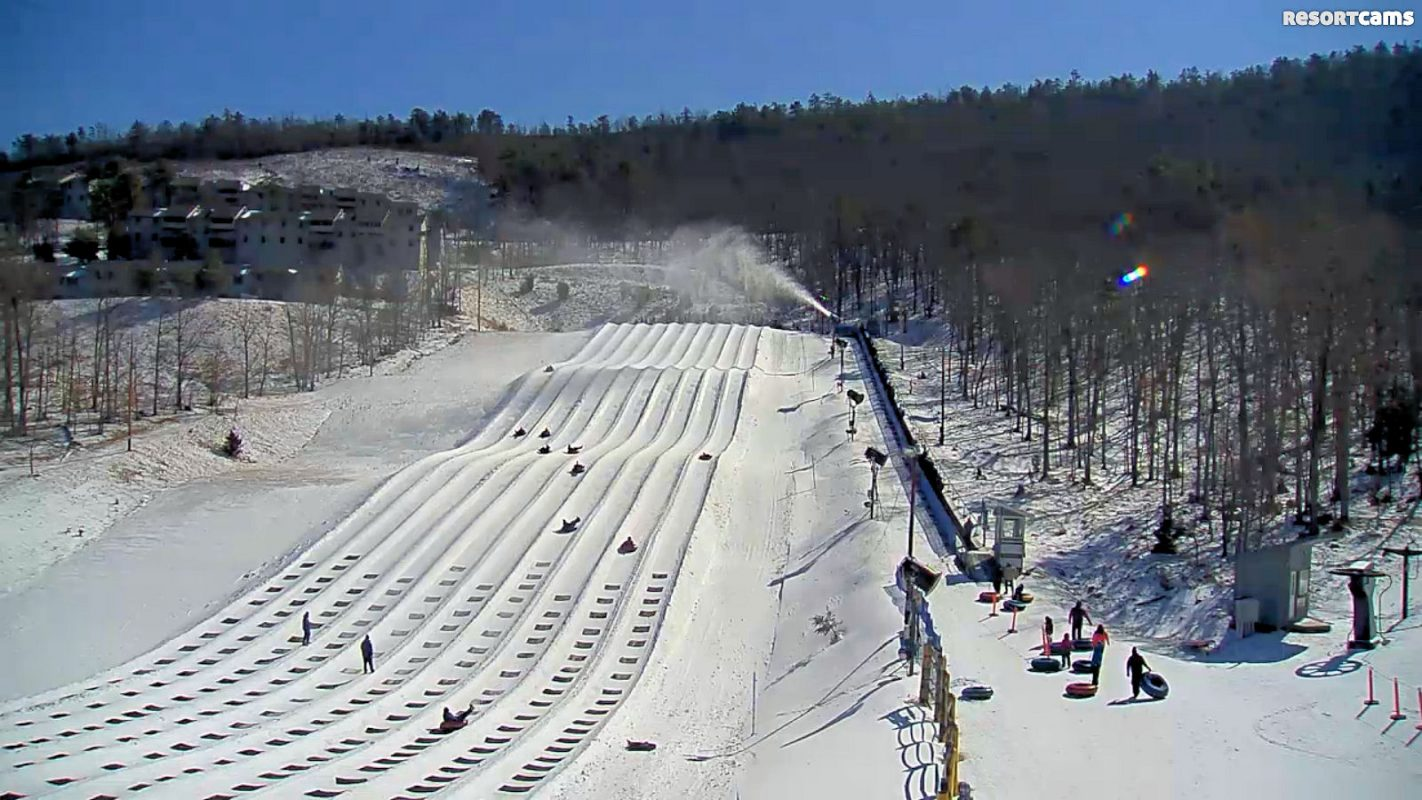 hawksnest snow tubing | high country vacations